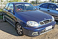 2001 Daewoo Lanos (T150) Sport 3-door hatchback (2009-09-25).jpg
