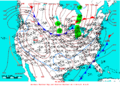 2006-01-24 Surface Weather Map NOAA.png