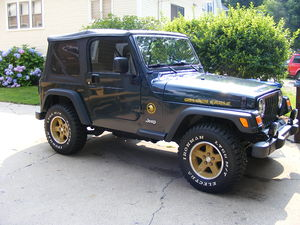 English: 2006 Jeep Wrangler TJ Golden Eagle Ed...
