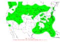 2007-10-06 24-hr Precipitation Map NOAA.png