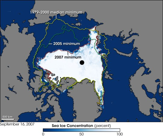 2007 Arctic Sea Ice