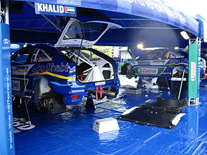 2007 Rally Finland preparations 12.JPG