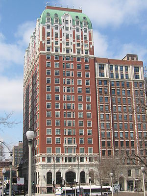 The Blackstone Hotel - Image: 20080409 Blackstone Hotel Exterior