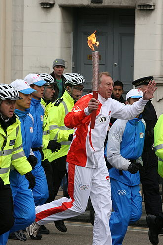 2008 Summer Olympics torch relay - The 2008 Olympic Torch in London