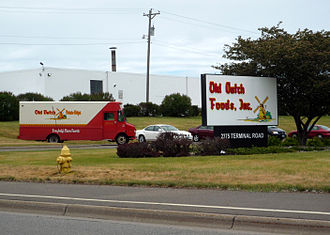 Roseville, Minnesota - The headquarters of Old Dutch Foods is in Roseville.