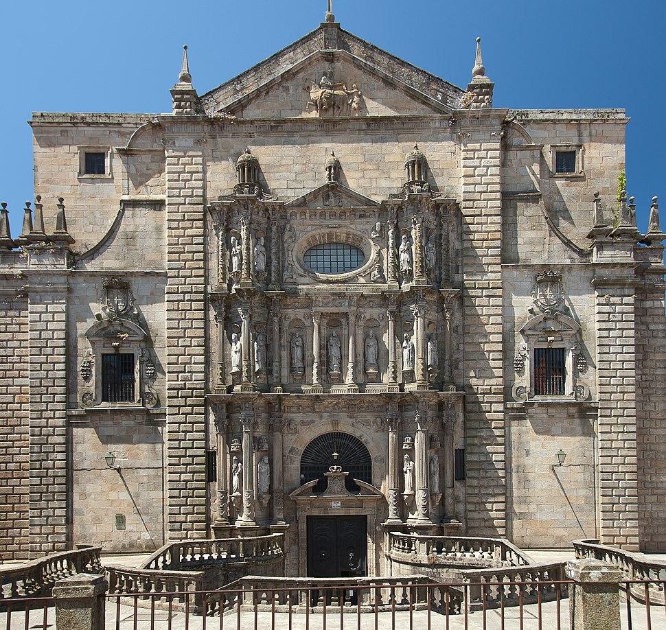 2010-07-18. San Martiño Pinario-Santiago Compostela-Galicia (Spain)