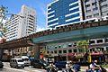 2010 07 21540 6835 Da'an District, Taipei, Fuxing Road, Taipei Metro Muzha Line, Viaducts, Composite bridges, Taiwan.JPG