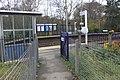 2011 at Eggesford station - platform 2 entrance.JPG