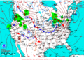 2013-04-07 Surface Weather Map NOAA.png