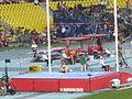 2013 IAAF World Champiomships in Moscow Women Pole Vault Qual - Silke Spiegelburg.JPG