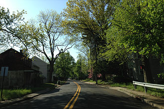 County Route 526 (New Jersey) - CR 526 entering Allentown