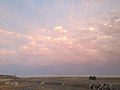 2014-06-10 20 08 24 Clouds lit by the waning light of a sunset in West Wendover, Nevada.JPG