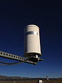 2014-10-03 17 00 22 Eureka Airport AWOS tipping bucket rain gauge.JPG