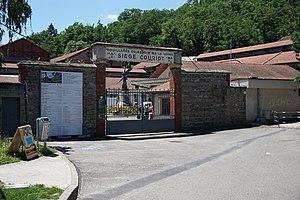 Saint-Étienne Mine Museum - Image: 2014 Puits Couriot 01