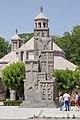 2014 Prowincja Armawir, Wagharszapat, Pomnik ludobójstwa Ormian (03).jpg