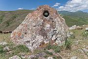 2014 Prowincja Sjunik, Zorac Karer, Prehistoryczny kompleks megalityczny (021).jpg