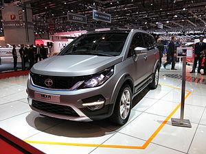 Tata Aria - Tata Hexa (Geneva Motor Show 2015)