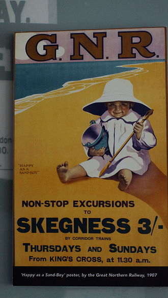 Happy as a Sand-Boy, summer specials poster to Skegness (1907) 2015-03-07 - Thinktank - Sasha Taylor - 291.JPG