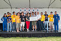2015 Sample Return Robot Challenge - prize award.jpg
