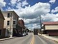 2016-06-06 14 17 42 View north along U.S. Route 220 (Main Street) at Alt Avenue in Petersburg, Grant County, West Virginia.jpg