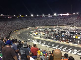 2016 NASCAR Xfinity Series - The Food City 300 at Bristol Motor Speedway in August