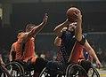 2016 Invictus Games, US Wheelchair Basketball Team plays the Netherlands 160512-D-BB251-002.jpg