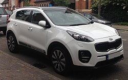 2016 Kia Sportage First Edition CRDI Automatic 2.0 Front.jpg