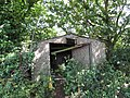 2018-06-13 Dilapidated garage, Loop road, Trimingham.JPG