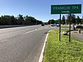 2018-07-19 08 53 04 View south along New Jersey State Route 17 at the exit for Bergen County Route 62 (Franklin Turnpike) in Ridgewood, Bergen County, New Jersey.jpg