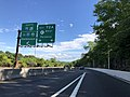 2018-07-21 09 46 26 View west along New Jersey State Route 4 just west of U.S. Route 9W (Fletcher Avenue) in Fort Lee, Bergen County, New Jersey.jpg