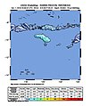 2018-10-01 Nggongi Satu, Indonesia M6 earthquake shakemap (USGS).jpg