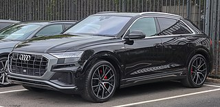 Audi Q8 Mid-size luxury crossover SUV coupé