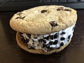 2019-01-29 00 31 28 A Good Humor Chocolate Chip Cookie Sandwich with the package removed in the Franklin Farm section of Oak Hill, Fairfax County, Virginia.jpg