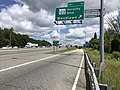 2019-06-14 11 37 50 View north along the Inner Loop of the Baltimore Beltway (Interstate 695) at Exit 17 (Maryland State Route 122-Security Boulevard, Woodlawn) in Woodlawn, Baltimore County, Maryland.jpg