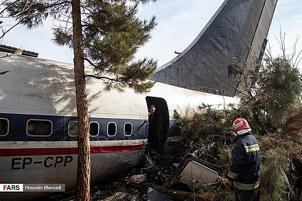 2019 Saha Airlines Boeing 707 crash - Wikiwand