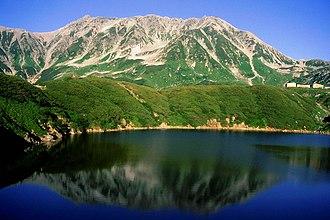 Mount Tate - Mount Tate (Mt. Fuji-no-Oritate, Mt. Oonanji, Mt. O) and Mikuri Pond