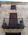 26 Can Basart, pl. Ajuntament 5-6 (Calella), detall.JPG