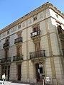 274 Edifici al c. Germans Sant Gabriel 2 - muralla del Castell (Valls), antic convent de carmelites.jpg