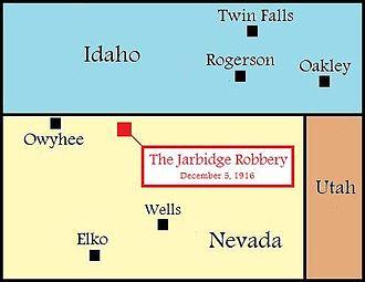 Jarbidge Stage Robbery - Image: 2 Jarbridge Robbery 1916