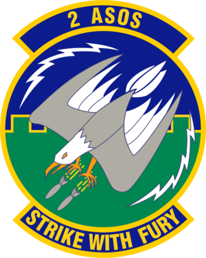 2d Air Support Operations Squadron - 2d Air Support Operations Squadron emblem