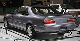 2nd generation Honda Legend Coupe rear.jpg
