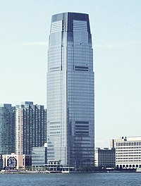 Goldman Sachs Tower, as seen from New York Harbor
