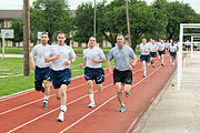 37th Training Wing - BMTS - Running