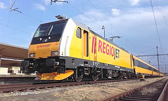 RegioJet - Image: 386 202 Regiojet Praha Smichov 2018 20