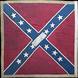 3d Arkansas Infantry Regiment (Confederate States) - Regimental Colors of the Third Arkansas