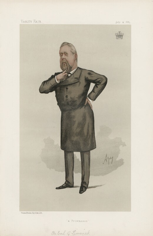 William Pery, 3rd Earl of Limerick - The Earl of Limerick by Carlo Pellegrini, 1885.