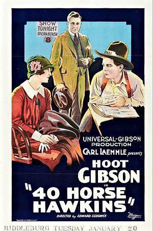40-Horse Hawkins - Film poster