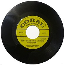 45 rpm single record