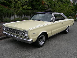 Plymouth Satellite - 1966 Plymouth Satellite 2-door hardtop