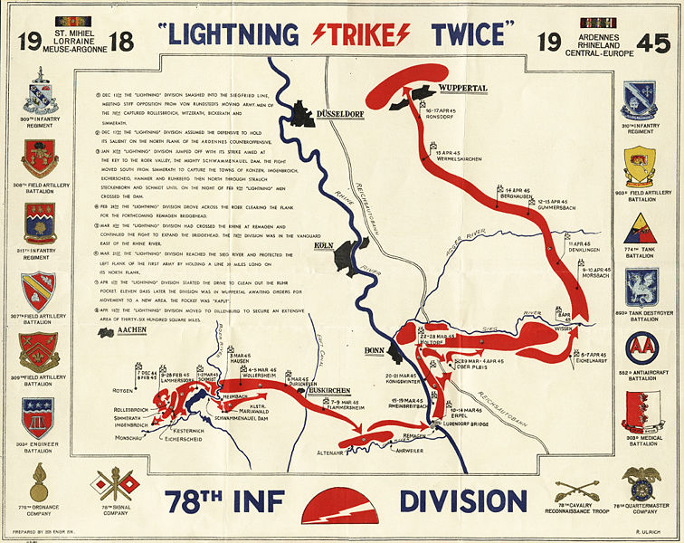 Image:78th Division WWII Route Map.jpg